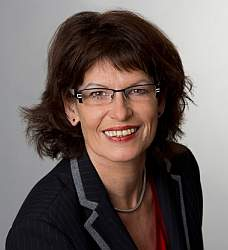 Jutta Blatzheim-Roegler, verkehrspolitische Sprecherin der Landtagsfraktion in Rheinland-Pfalz