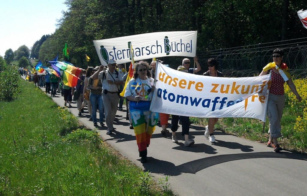 Büchel Ostermarsch 2011